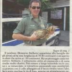 Il guardiaparco Franco Delpiano con il tarabuso