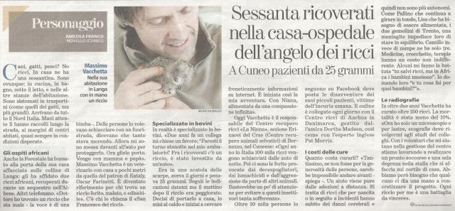 La Stampa 20-02-2016